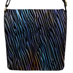 Abstract Background Wallpaper Flap Messenger Bag (s)