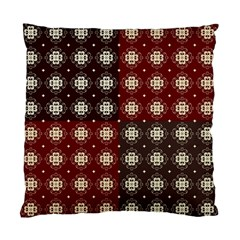 Decorative Pattern With Flowers Digital Computer Graphic Standard Cushion Case (one Side)
