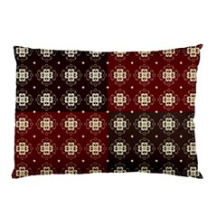 Decorative Pattern With Flowers Digital Computer Graphic Pillow Case (two Sides) by Nexatart