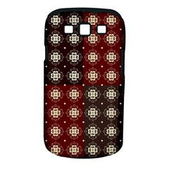 Decorative Pattern With Flowers Digital Computer Graphic Samsung Galaxy S III Classic Hardshell Case (PC+Silicone)
