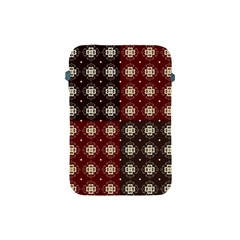 Decorative Pattern With Flowers Digital Computer Graphic Apple Ipad Mini Protective Soft Cases