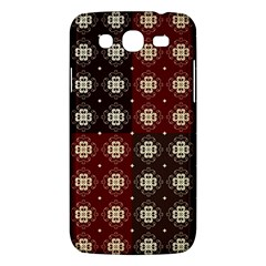 Decorative Pattern With Flowers Digital Computer Graphic Samsung Galaxy Mega 5 8 I9152 Hardshell Case