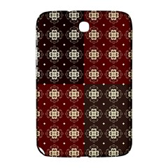 Decorative Pattern With Flowers Digital Computer Graphic Samsung Galaxy Note 8 0 N5100 Hardshell Case