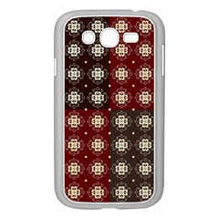 Decorative Pattern With Flowers Digital Computer Graphic Samsung Galaxy Grand Duos I9082 Case (white) by Nexatart