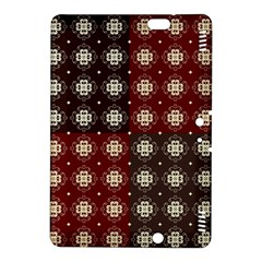 Decorative Pattern With Flowers Digital Computer Graphic Kindle Fire Hdx 8 9  Hardshell Case