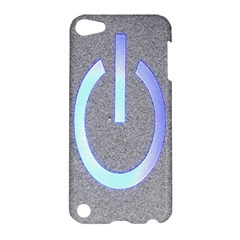 Close Up Of A Power Button Apple Ipod Touch 5 Hardshell Case