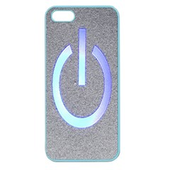 Close Up Of A Power Button Apple Seamless Iphone 5 Case (color) by Nexatart