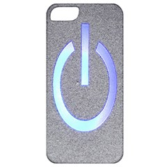 Close Up Of A Power Button Apple Iphone 5 Classic Hardshell Case