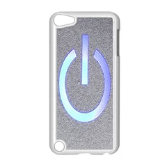 Close Up Of A Power Button Apple Ipod Touch 5 Case (white) by Nexatart