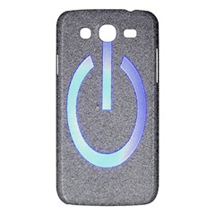 Close Up Of A Power Button Samsung Galaxy Mega 5 8 I9152 Hardshell Case