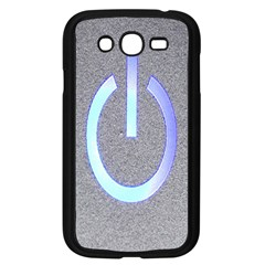 Close Up Of A Power Button Samsung Galaxy Grand Duos I9082 Case (black)