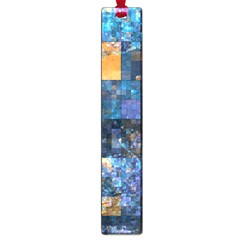 Blue Squares Abstract Background Of Blue And Purple Squares Large Book Marks