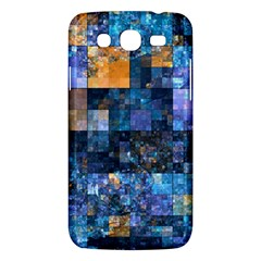 Blue Squares Abstract Background Of Blue And Purple Squares Samsung Galaxy Mega 5 8 I9152 Hardshell Case  by Nexatart