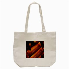 Magic Steps Stair With Light In The Dark Tote Bag (cream) by Nexatart