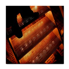 Magic Steps Stair With Light In The Dark Face Towel