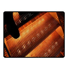 Magic Steps Stair With Light In The Dark Fleece Blanket (small)