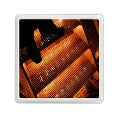Magic Steps Stair With Light In The Dark Memory Card Reader (square)  by Nexatart