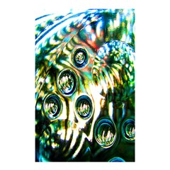 Dark Abstract Bubbles Shower Curtain 48  X 72  (small)  by Nexatart