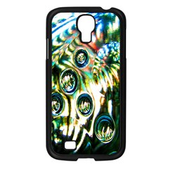 Dark Abstract Bubbles Samsung Galaxy S4 I9500/ I9505 Case (black) by Nexatart