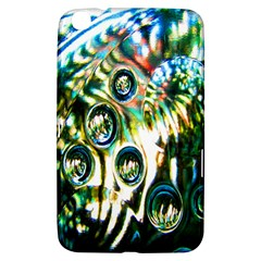 Dark Abstract Bubbles Samsung Galaxy Tab 3 (8 ) T3100 Hardshell Case