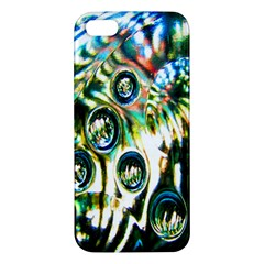 Dark Abstract Bubbles Iphone 5s/ Se Premium Hardshell Case