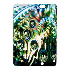 Dark Abstract Bubbles Kindle Fire Hdx 8 9  Hardshell Case