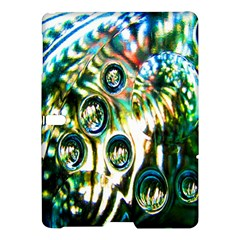 Dark Abstract Bubbles Samsung Galaxy Tab S (10 5 ) Hardshell Case  by Nexatart