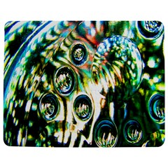 Dark Abstract Bubbles Jigsaw Puzzle Photo Stand (rectangular)
