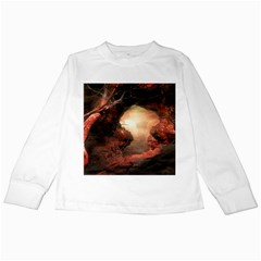3d Illustration Of A Mysterious Place Kids Long Sleeve T Shirts