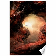 3d Illustration Of A Mysterious Place Canvas 20  x 30