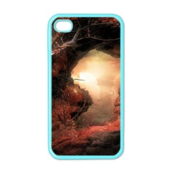 3d Illustration Of A Mysterious Place Apple Iphone 4 Case (color) by Nexatart