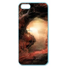 3d Illustration Of A Mysterious Place Apple Seamless iPhone 5 Case (Color)