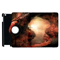 3d Illustration Of A Mysterious Place Apple Ipad 3/4 Flip 360 Case by Nexatart