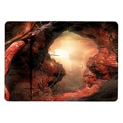 3d Illustration Of A Mysterious Place Samsung Galaxy Tab 10 1  P7500 Flip Case