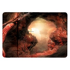 3d Illustration Of A Mysterious Place Samsung Galaxy Tab 8 9  P7300 Flip Case by Nexatart