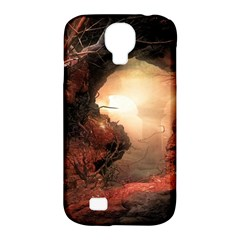 3d Illustration Of A Mysterious Place Samsung Galaxy S4 Classic Hardshell Case (pc+silicone)