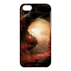 3d Illustration Of A Mysterious Place Apple Iphone 5c Hardshell Case