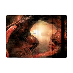 3d Illustration Of A Mysterious Place Ipad Mini 2 Flip Cases by Nexatart