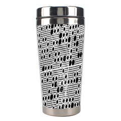 Metal Background With Round Holes Stainless Steel Travel Tumblers by Nexatart