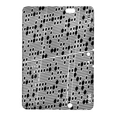 Metal Background With Round Holes Kindle Fire Hdx 8 9  Hardshell Case by Nexatart