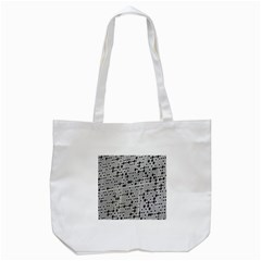 Metal Background With Round Holes Tote Bag (white) by Nexatart