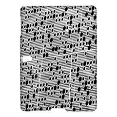 Metal Background With Round Holes Samsung Galaxy Tab S (10 5 ) Hardshell Case  by Nexatart