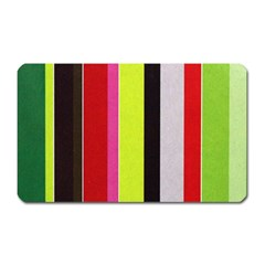 Stripe Background Magnet (rectangular) by Nexatart