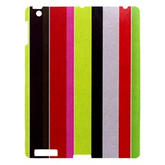 Stripe Background Apple Ipad 3/4 Hardshell Case by Nexatart