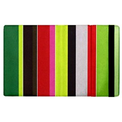 Stripe Background Apple Ipad 3/4 Flip Case