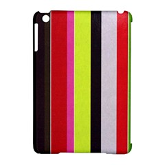 Stripe Background Apple Ipad Mini Hardshell Case (compatible With Smart Cover) by Nexatart