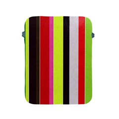 Stripe Background Apple Ipad 2/3/4 Protective Soft Cases by Nexatart