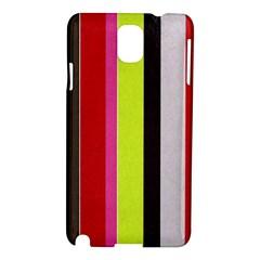 Stripe Background Samsung Galaxy Note 3 N9005 Hardshell Case