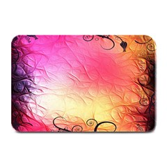 Floral Frame Surrealistic Plate Mats by Nexatart