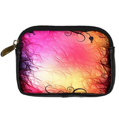 Floral Frame Surrealistic Digital Camera Cases by Nexatart